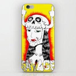 Savage Skullet iPhone Skin