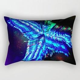 Entrapment Neon Rectangular Pillow