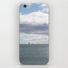 Sailboats on the Sea iPhone Skin