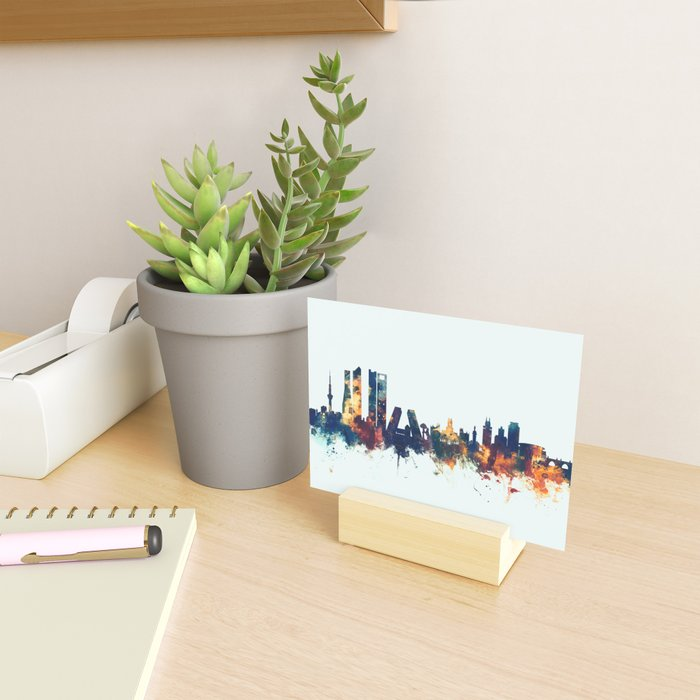 Madrid Spain Skyline Mini Art Print