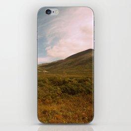 Golden hues | Cloud landscape iPhone Skin