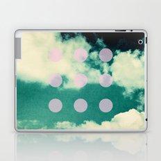 Clouds + Dots Laptop & iPad Skin