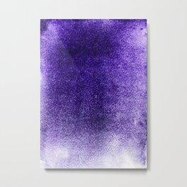 Amethyst Mist Field Metal Print