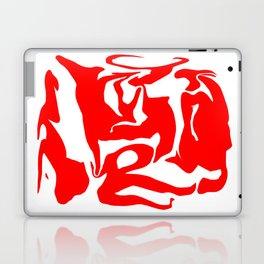 face3 red Laptop & iPad Skin