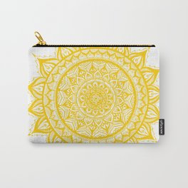 Sunflower-Yellow Carry-All Pouch