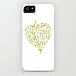 The Linden leaf iPhone Case