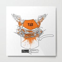 Yam's Nest Metal Print