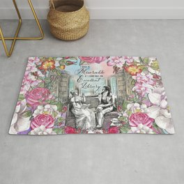 Excellent Library - Pride and Prejudice Rug