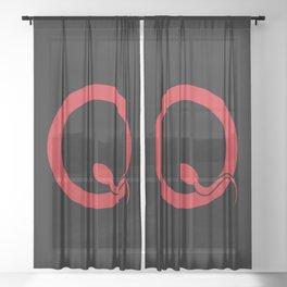 Spermy Q Sheer Curtain