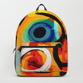 Abstract Art Good Energy Summer Vibes Backpack