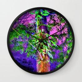 Magic Light at Night Wall Clock