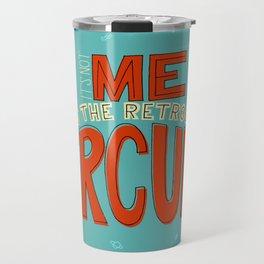 Retrograde Mercury Travel Mug