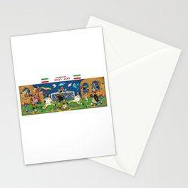 world cup 2018 Stationery Cards
