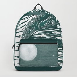 Dream Wave Zentangle Backpack