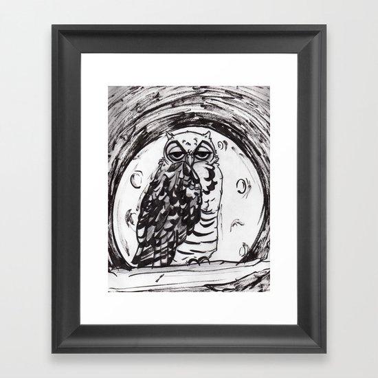 Night Owl v.1 Framed Art Print