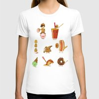 junk food T-shirts featuring Junk food Army by Jiaqi He