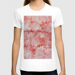 Turkish Rose Weave Pattern T-shirt