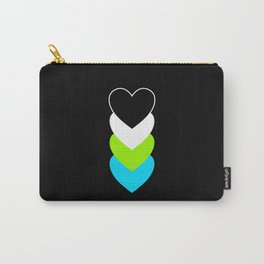Quoiromanticism in Hearts Carry-All Pouch