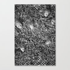 Alien Collective B & W Canvas Print