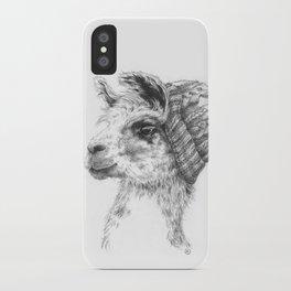 Wooly Llama iPhone Case