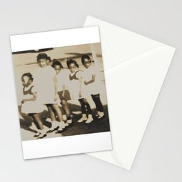 Five Little Girls Stationery Cards