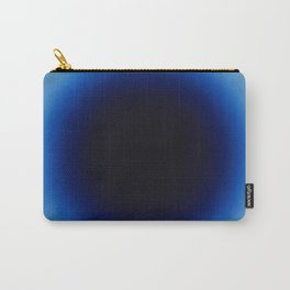 Fabrizius2 - Untitled (Spot Black in Ultramarine) Carry-All Pouch