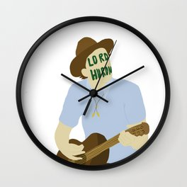 Ben Schneider-lord huron Wall Clock