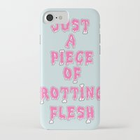 in the flesh iPhone & iPod Cases featuring flesh! by gasponce