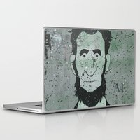lincoln Laptop & iPad Skins featuring Lincoln by Doren Chapman