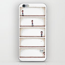 WHAT ARE YOU LOOKING AT? iPhone Skin
