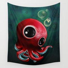 Mr Octopus Wall Tapestry