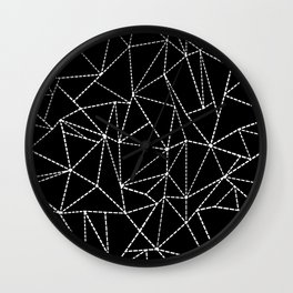 Ab Dotted Lines Wall Clock