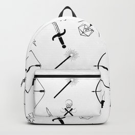 Dungeons and Patterns Backpack