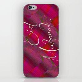 Eid Greetings iPhone Skin