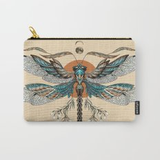 Dragonfly Tattoo Carry-All Pouch