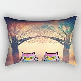 owl-78 Rectangular Pillow