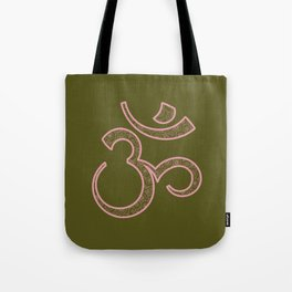 Om Syllable Tote Bag
