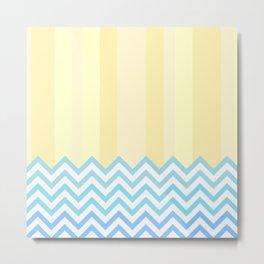 The Beach - Abstract Geometry Metal Print