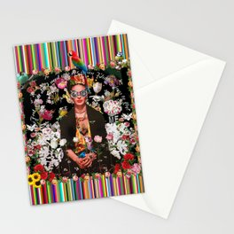 Frida OTT Kahlo You Are Too Much Stationery Cards