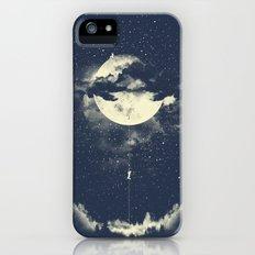 MOON CLIMBING iPhone SE Slim Case