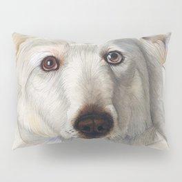 Maremma dog Pillow Sham