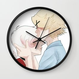 head kiss Wall Clock