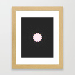 THE MISSING SCARF - Sun 3 Framed Art Print