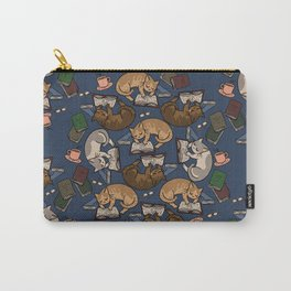 Book Cats Carry-All Pouch