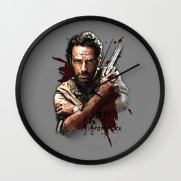 I'm not the good guy anymore Wall Clock