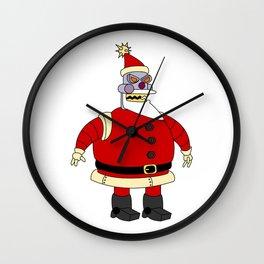 Bad robot Santa Claus Wall Clock