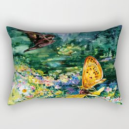 The Meadow by Kathy Morton Stanion Rectangular Pillow