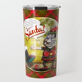 Here's Santa! Travel Mug