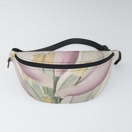 Flower 706 A musa rosacea Mauritius Plantain Tree13 Fanny Pack