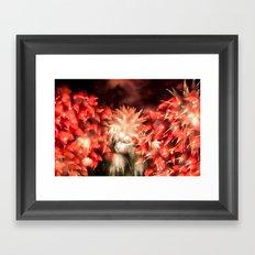 Fireworks - Philippines 9 Framed Art Print